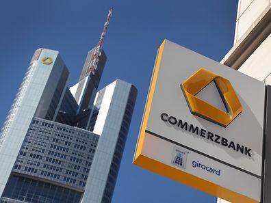 Commerzbank headquarters in Frankfurt