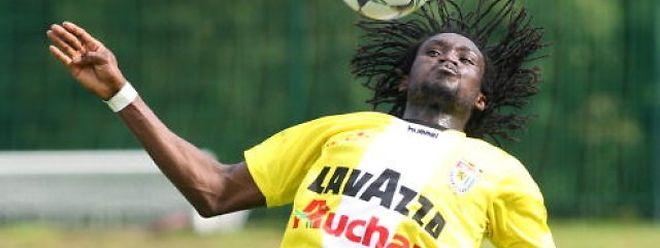 Amodou Abdullei n'aura guère eu l'occasion de se mettre en évidence sous le maillot dudelangeois