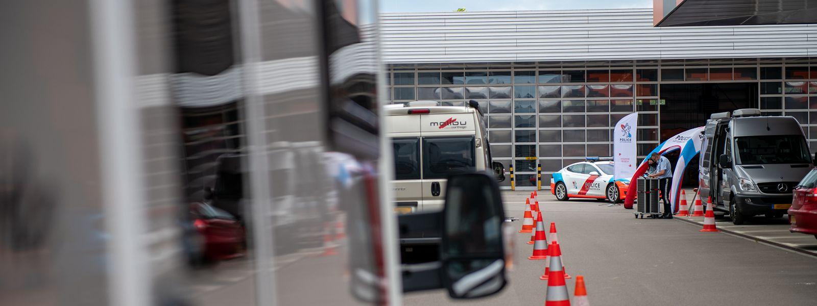 Die Besitzer von Wohnwagen oder Wohnmobilen konnten am Freitag kostenlos ihre Fahrzeuge kontrollieren lassen.