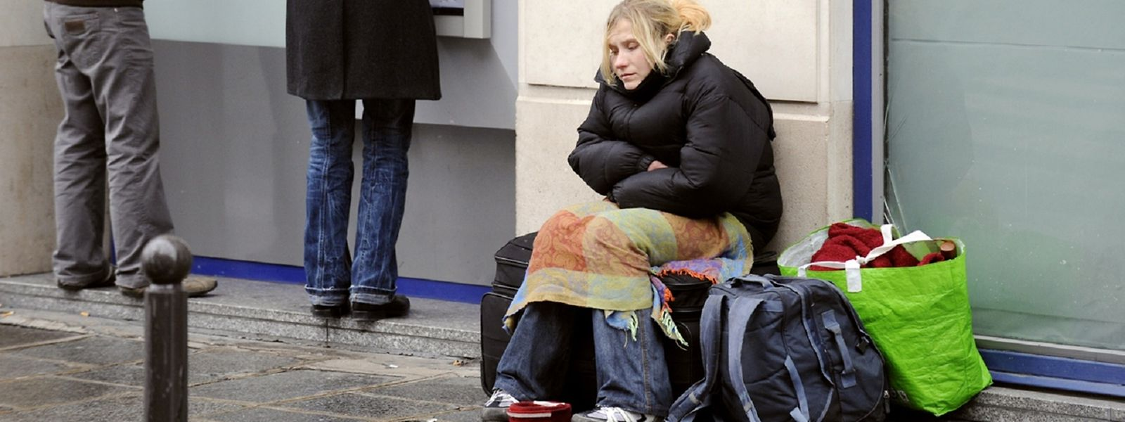 Les associations ont recensé 232 personnes sans-abri au Luxembourg.