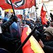 Über das Programm der Lega Nord-Partei ist man sich nicht überall einig. Vielerorts kam es zu Protesten.