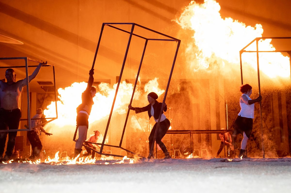 The Blast Furnace Festival every July has fire performers and live music