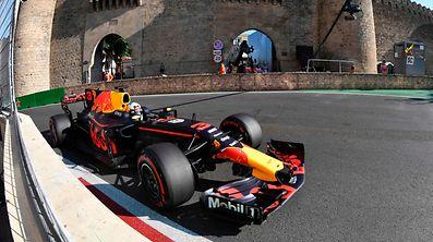 Daniel Ricciardo profitierte von den Problemen der Gegner.