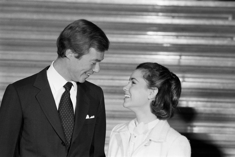 Erbgroßherzog Henri und Maria Teresa verkündeten am 10. November 1980 ihre Verlobung.