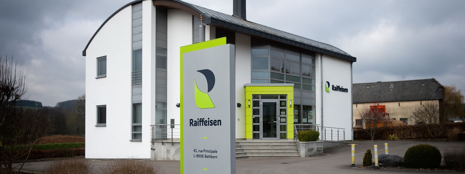 Die Raiffeisenkasse in Bettborn.