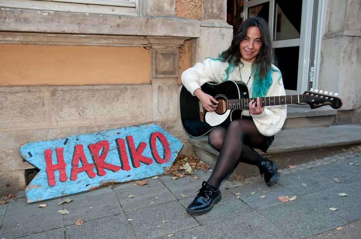 Catarina Cerqueira vor dem Hariko in Esch.