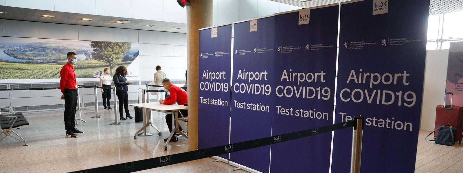 A compter de vendredi, les passagers arrivant au Luxembourg par l'aéroport devront présenter un test négatif au covid-19.