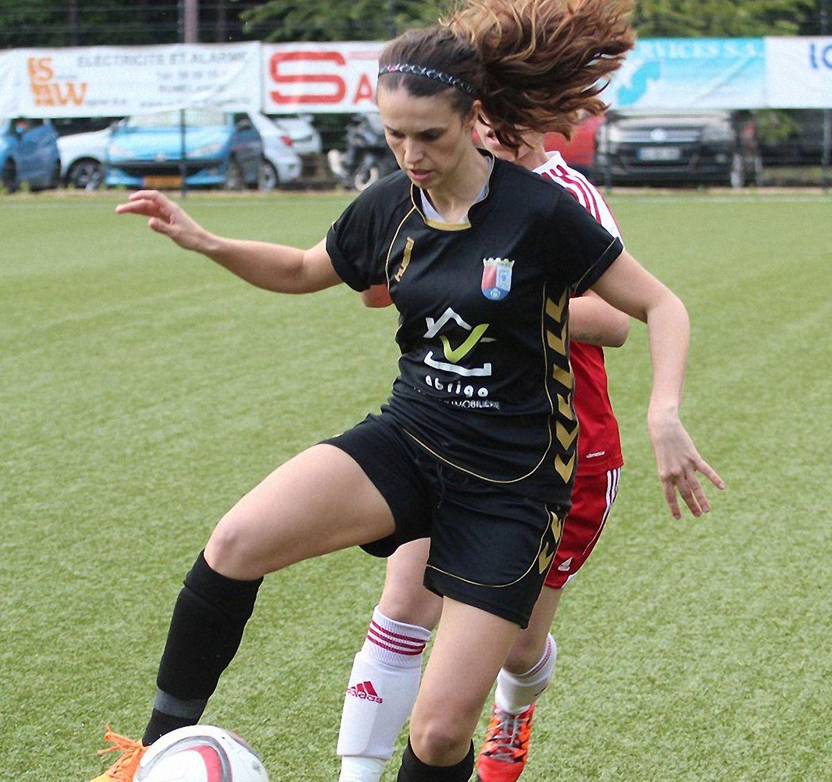 Sara Borges em ação