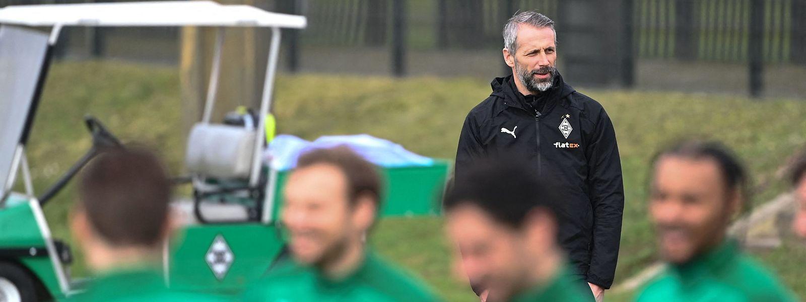 Mönchengladbachs scheidender Trainer Marco Rose bleibt optimistisch.
