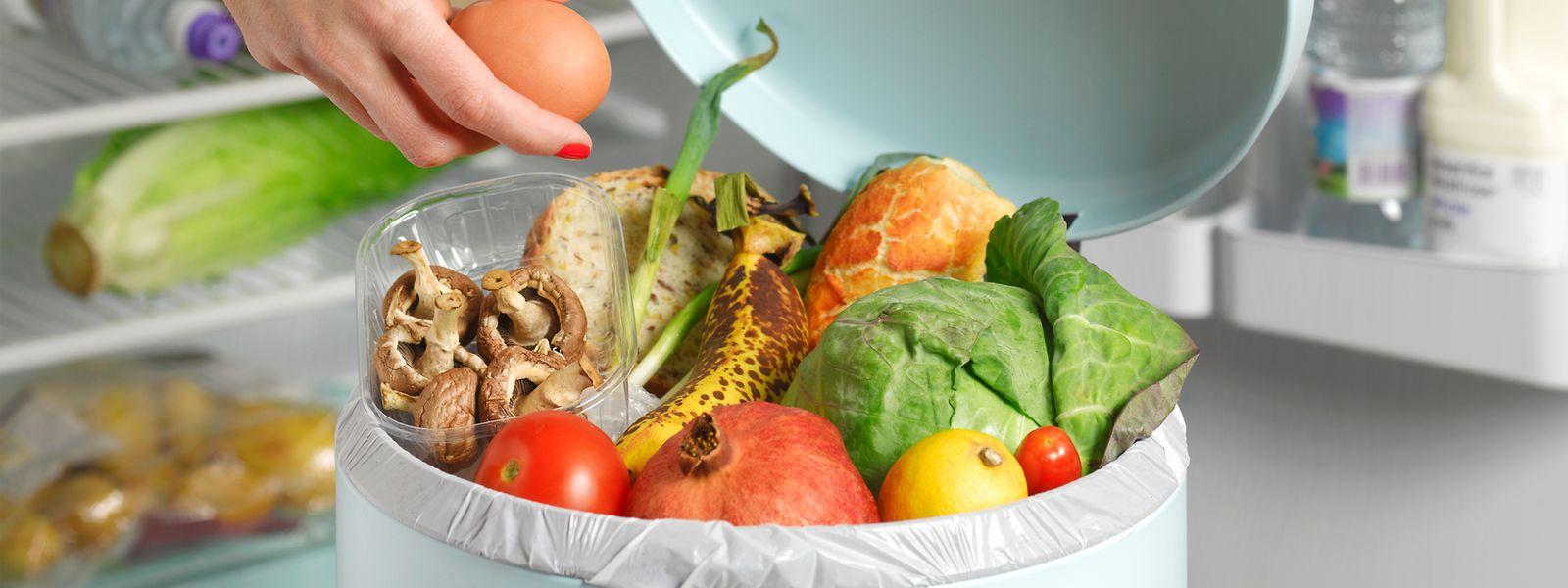 Mit der Menge an Lebensmitteln, die weltweit jährlich im Abfall landen, könnte ganz Luxemburg 1700 Jahre lang versorgt werden.