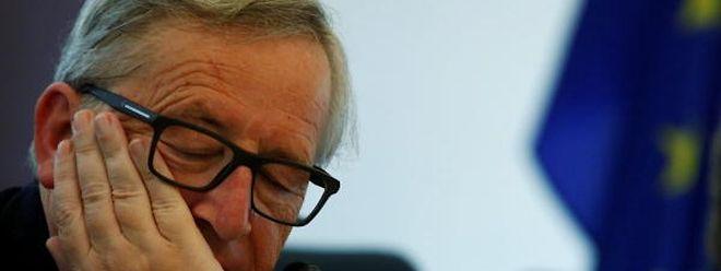 O presidente da Comissão Europeia, Jean-Claude Juncker