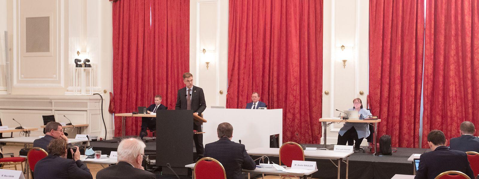 Am Mittwochnachmittag debattiert die Chamber über die angepassten Covid-Maßnahmen.