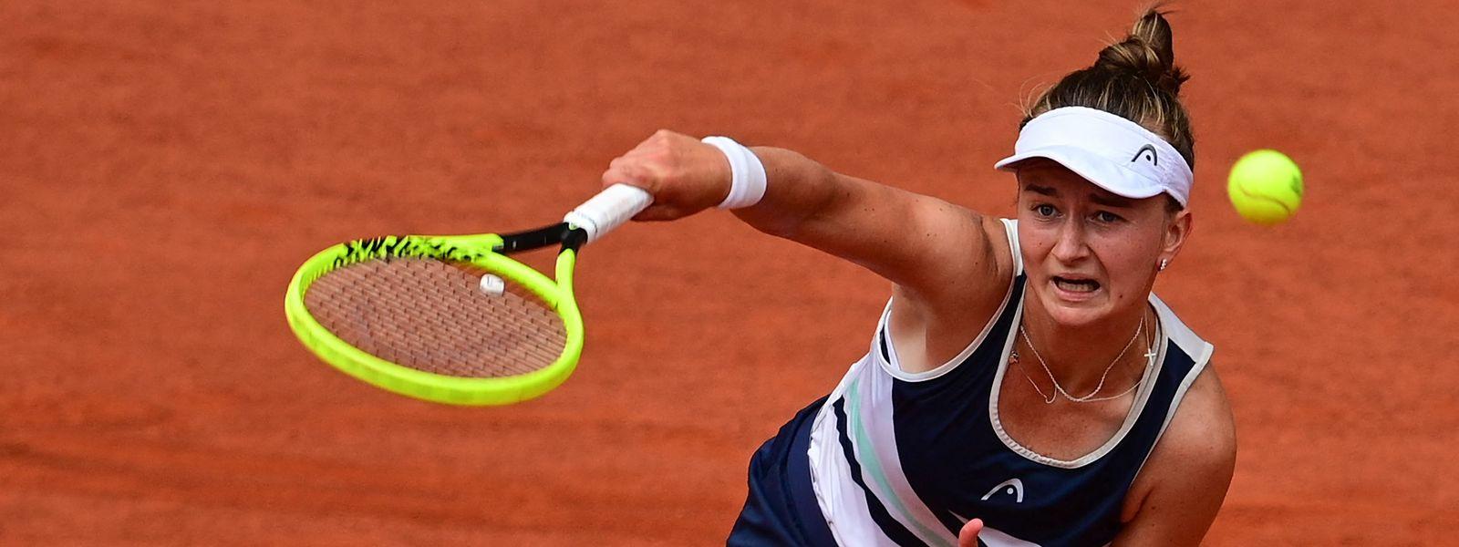 Barbora Krejcikova triumphiert als erste Tschechin seit 1981 in Paris.