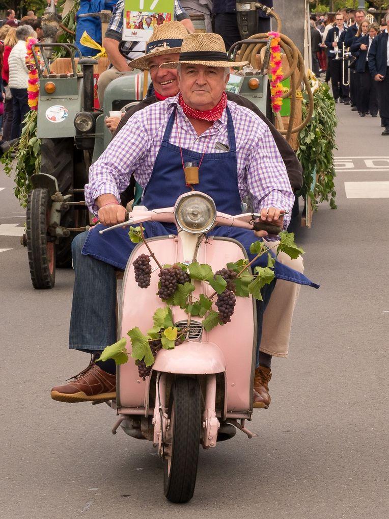 """Auf dem 68. """"Drauwen- a Wäifest"""" in Grevenmacher herrschte am Wochenende gute Stimmung."""