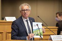 Chambre des députés, marché-aux-herbes. Vorstellung Haushaltsentwurf für 2022. Photo:Steve Eastwood