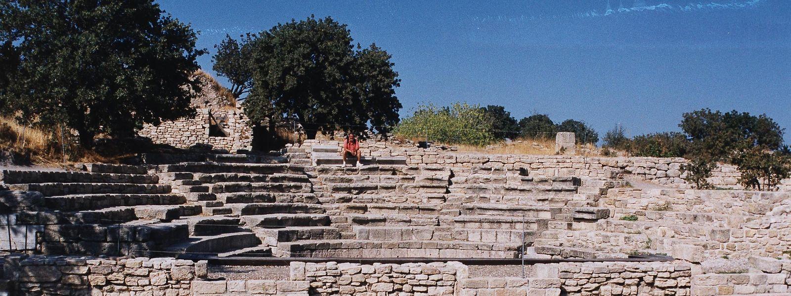 Die Siedlungsspuren in Troja gehen bis ins Jahr 2000 vor Christus zurück.