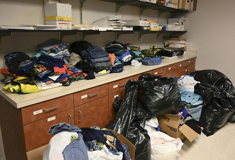 Spenden für die Betroffenen des Hurrikan Dorian.