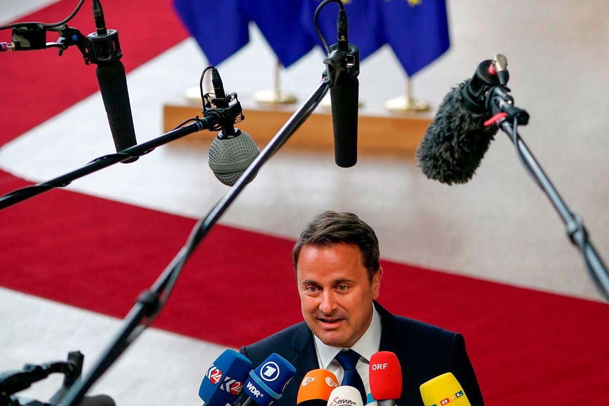 «Vestager serait une présidente forte pour la Commission européenne», a déclaré Xavier Bettel