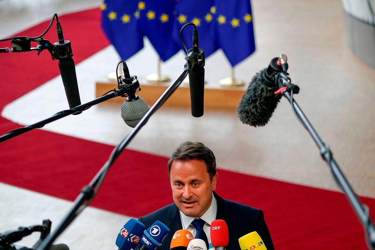"""""""Vestager wäre eine starke Präsidentin der Europäischen Kommission"""", so Xavier Bettel."""