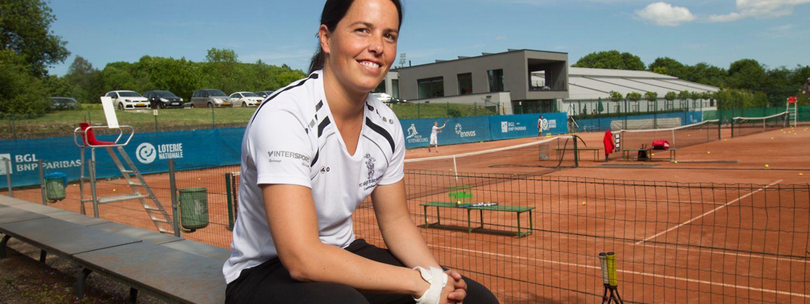 Claudine Schaul wird die Luxemburger Fed-Cup-Mannschaft anführen.
