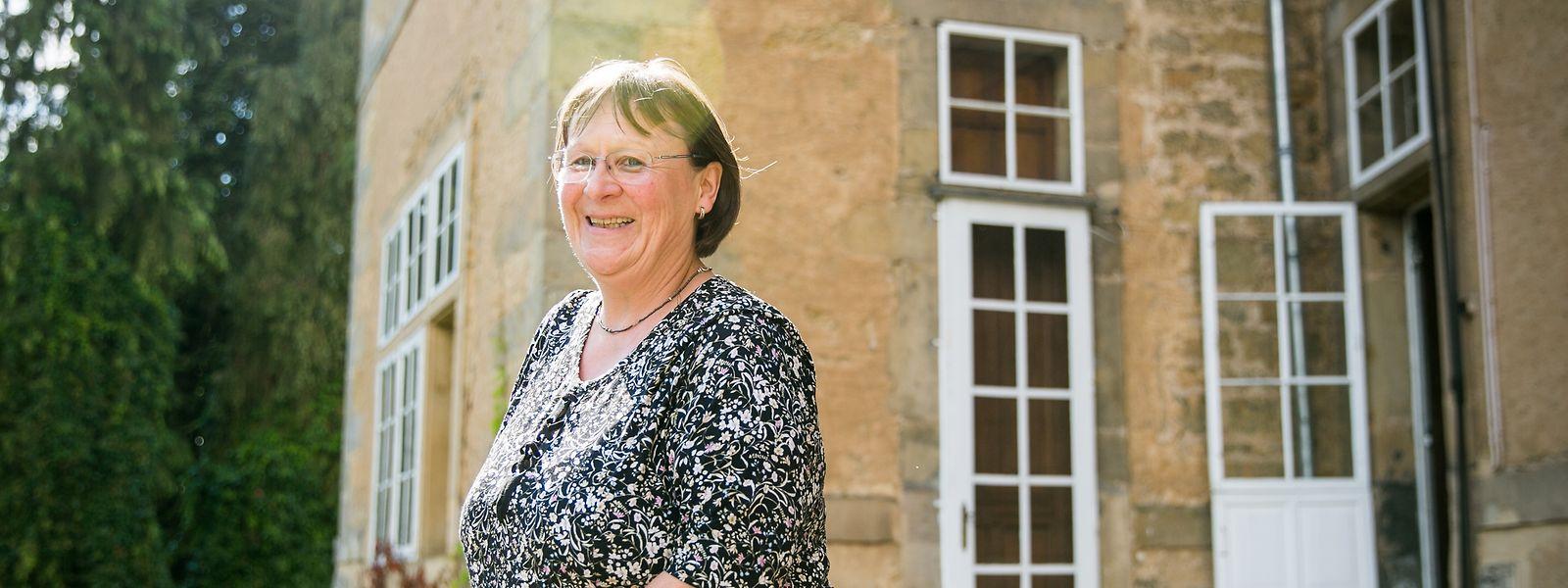 Jacqueline Kuijpers ist seit dem Tod von Anne-Marie Linckels im Jahr 2012 die neue Schlossherrin in Befort.