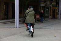 Lokales, Fahrrad in der rue de l'Alzette, Foto: Anouk Antony/Luxemburger Wort