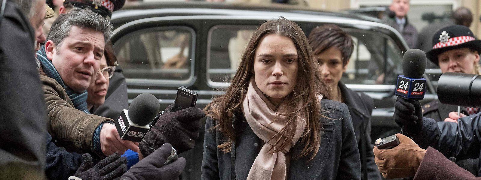 """Keira Knightley als Whistleblowerin Katharine Gun in """"Official Secrets""""."""
