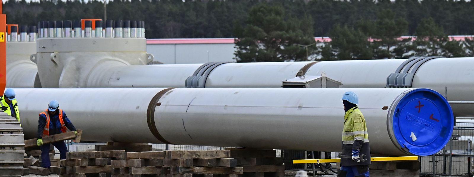 Die Ostseepipeline Nord Stream 2 ist zu 98 Prozent fertiggestellt.