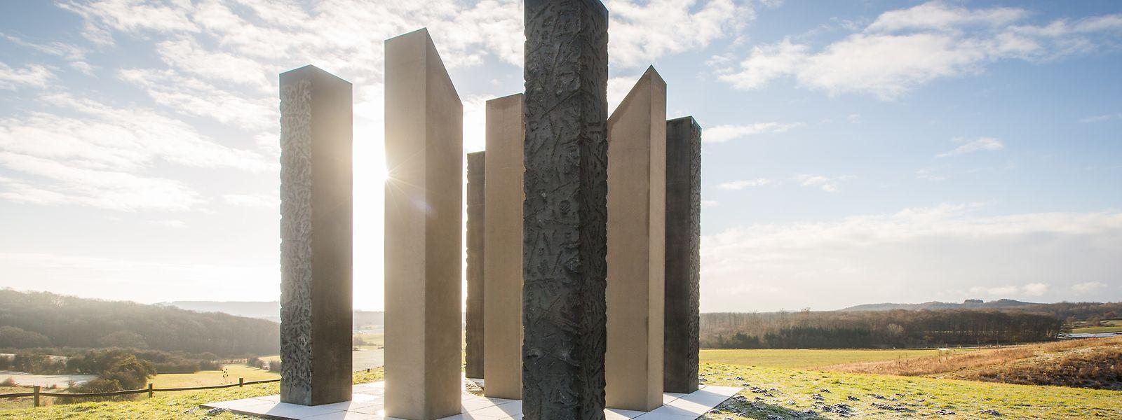 Die Erinnerungsstätte der AVR für die Verkehrsopfer.