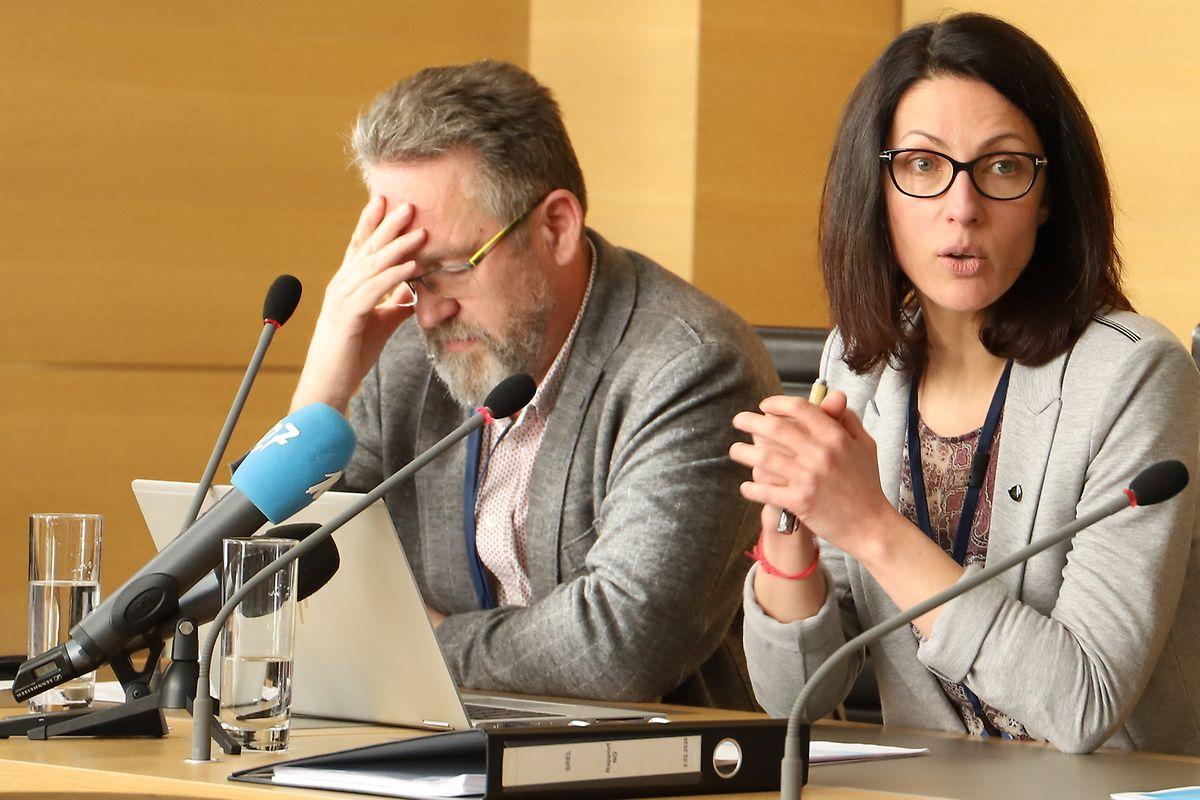 Die Historiker Nadine Geisler und Jean Reitz haben die Altbestände des Geheimdienst-Archivs zwei Jahre lang untersucht.