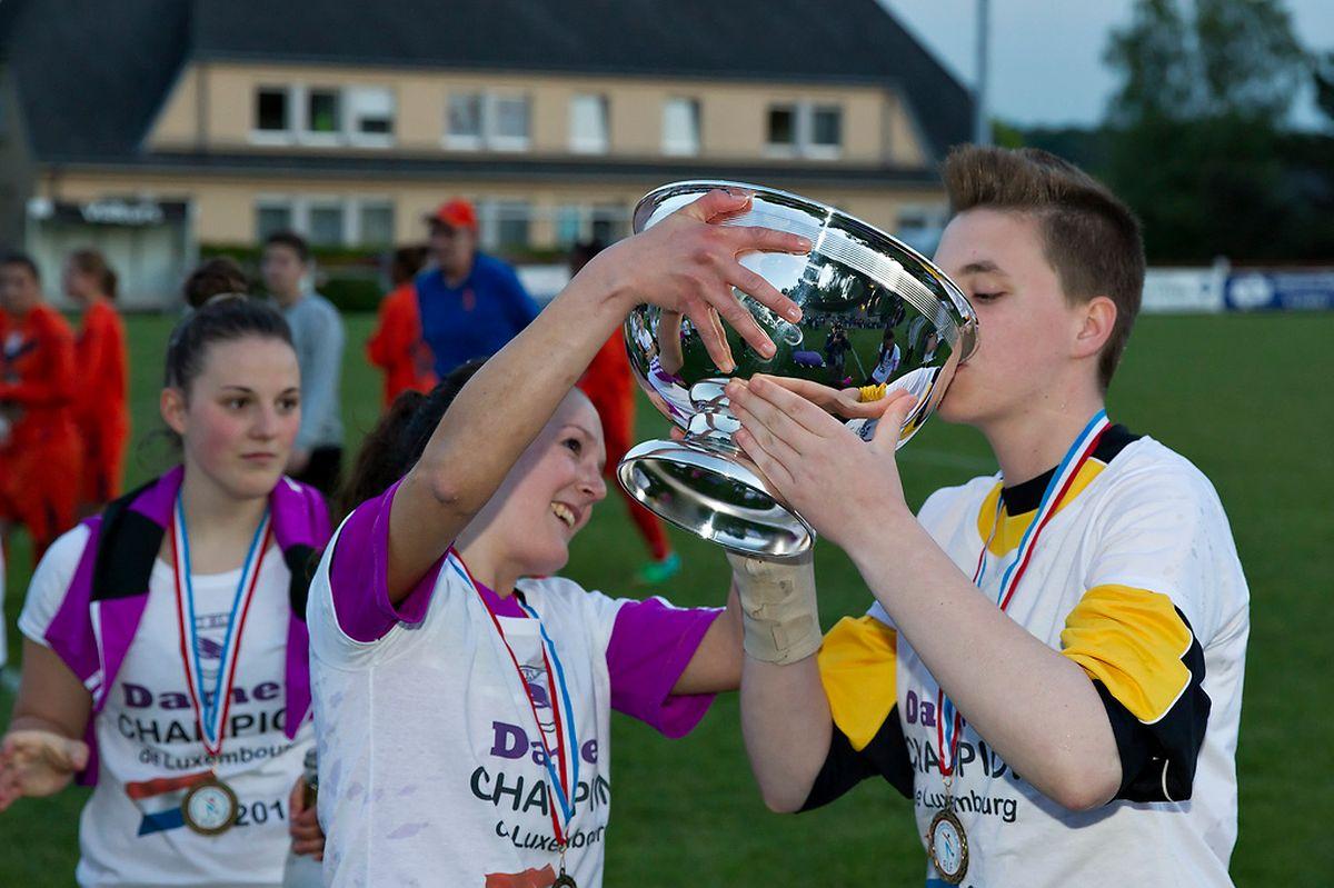 Championnes en mai dernier, les filles du SC Ell se dépaceront à Wincrange pour le compte de la 1re journée.