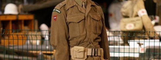 Als Prinz Jean mit den alliierten Streitkräften Luxemburg befreite