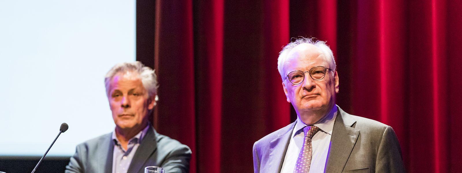 Viel Gegenwind brauchten Kulturstaatssekretär Guy Arendt und der Berater, Jo Kox, erst einmal nicht zu befürchten. Erst bei der Planumsetzung werden wohl die Frontlinien klarer.
