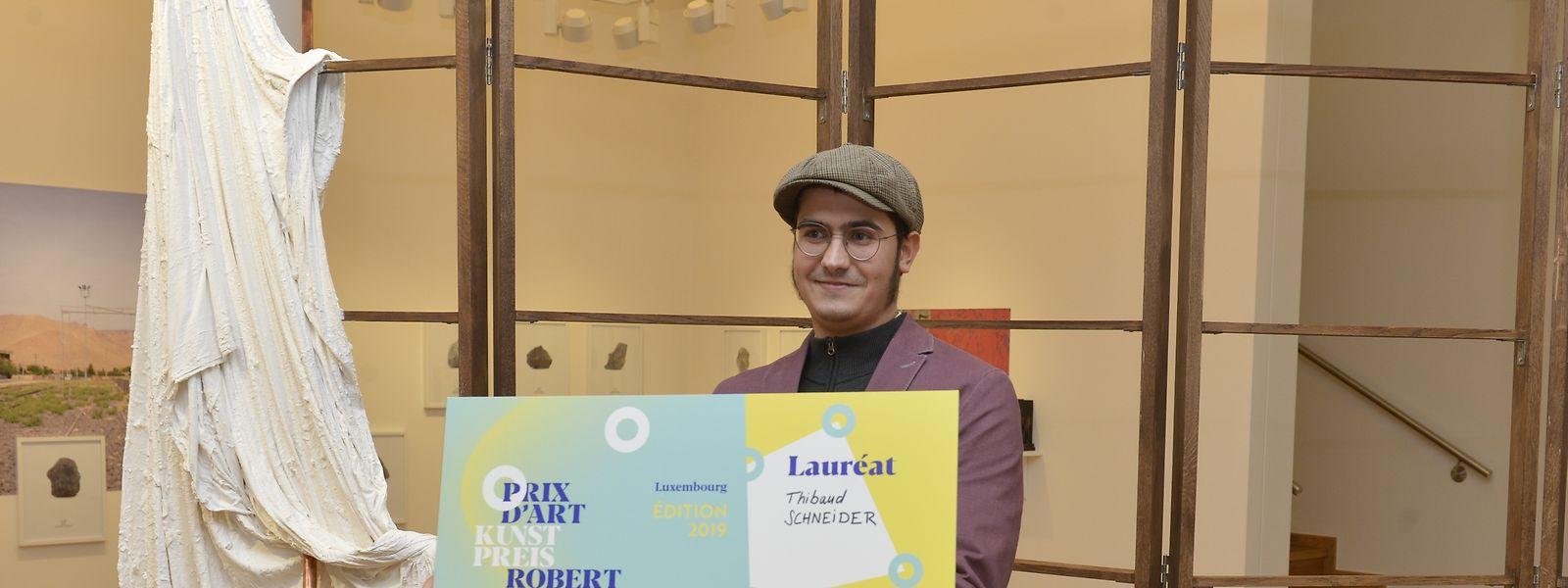 Thibaud Schneider hat den Schuman Kunstpreis des Städtenetzwerks Quattropole 2019 gewonnen.