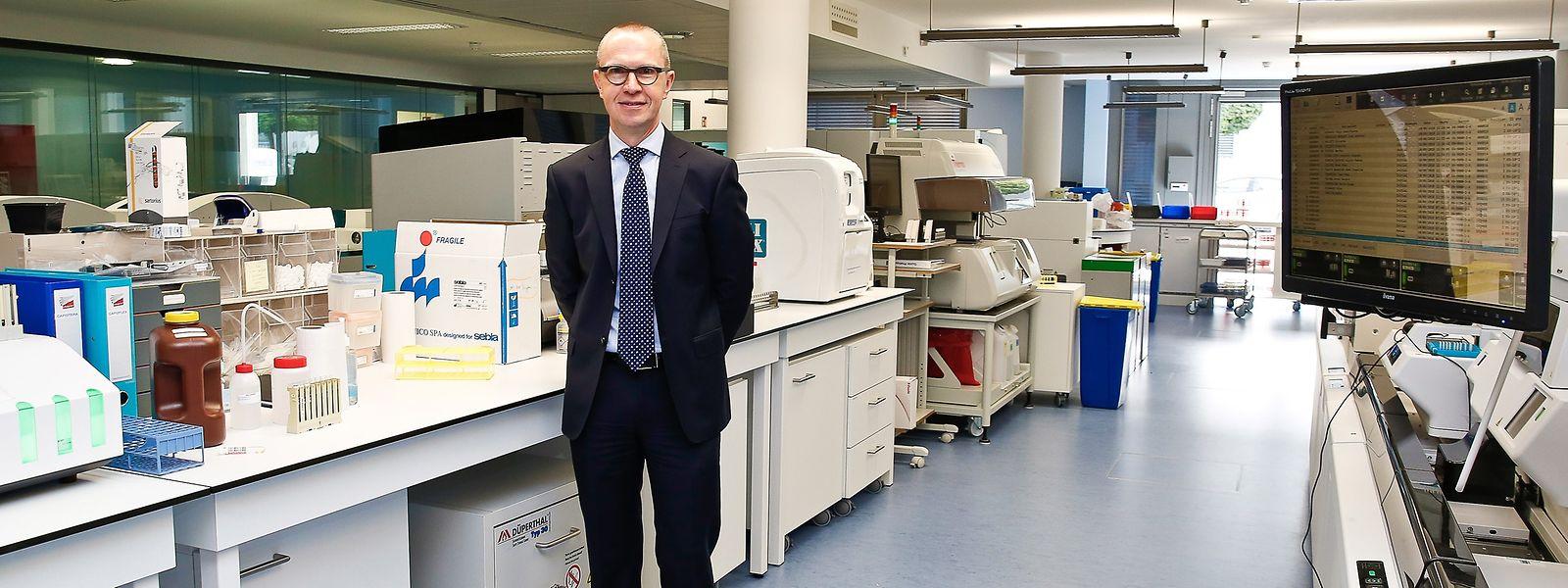 Pour Jean-Luc Dourson, le fonctionnement futur du LST devrait reposer sur tous les laboratoires du pays et non les seuls Laboratoires réunis, prestataires des différentes phases du dispositif sanitaire.