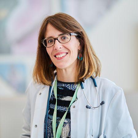 Isabel de la Fuente, pediatra da Kannerklinic, do CHL.