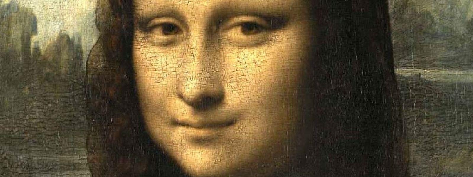 Leonardo da Vinci malte seine Mona Lisa um 1503-1506.