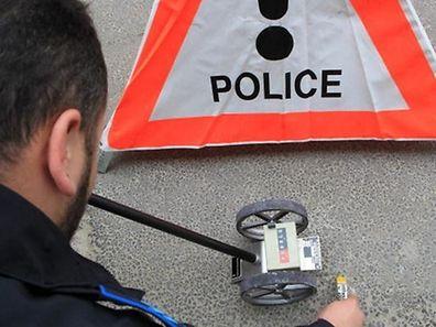 Den Polizeibeamten ging die Arbeit seit Freitag nicht aus.