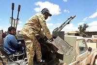 In Libyen herrscht derzeit in blutiger Bürgerkrieg.