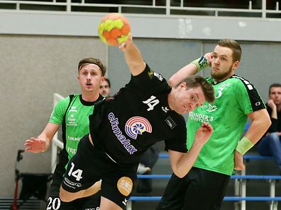 Christian Bock und der HB Esch schalteten Titelverteidiger HB Käerjeng aus.