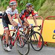 Laurent Didier (l.) und Jempy Drucker verlieren auch im Hochgebirge nicht die gute Laune.