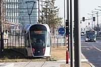 Die Tram ist beliebt - auch wenn das Ticket zurzeit kostet. Laut François Bausch wurden die Erwartungen bei den Passagierzahlen erheblich übertroffen.