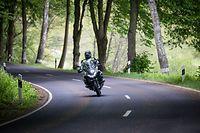 Motorradfahrer - Eisenbach N10 - Foto: Pierre Matgé/Luxemburger Wort