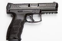 Die Polizei hat insgesamt 2100 Pistolen vom Typ Heckler&Koch SFP9 angeschafft.