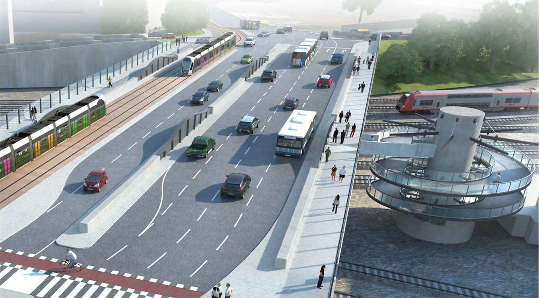 """Voilà à quoi ressemblera le """"nouveau"""" pont Büchler, fin 2021."""