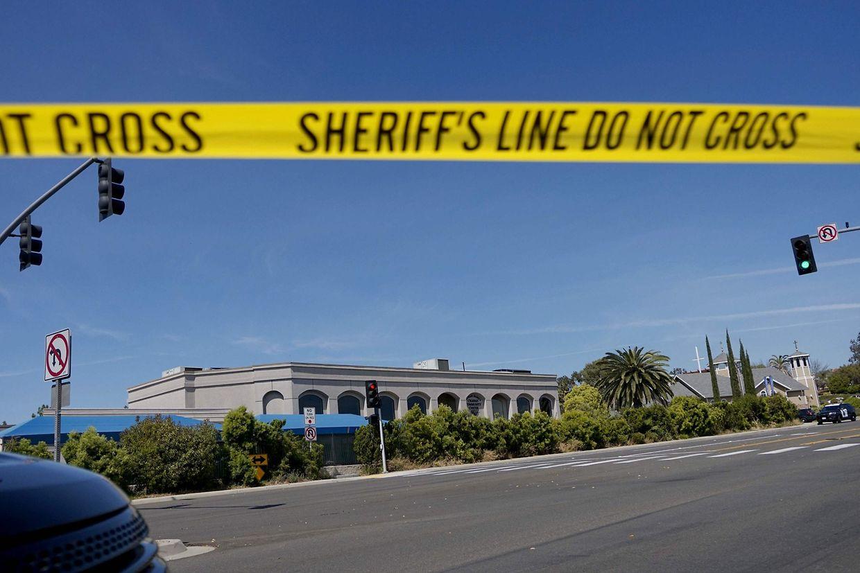 Anschlag gegen eine Synagoge in San Diego, Kalifornien.