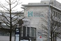 Lokales, Coronavirus, Covid-19, Hopitaux Robert Schuman, HRS, Foto: Chris Karaba/Luxemburger Wort