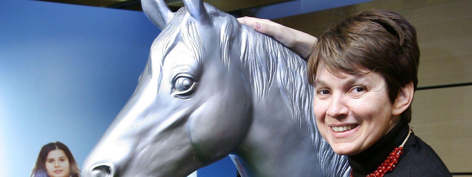 Marie-Paule Jungblut verlässt das Historische Museum in Basel.