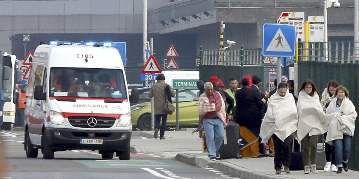 Der Flughafen Brüssel ist derzeit gesperrt.