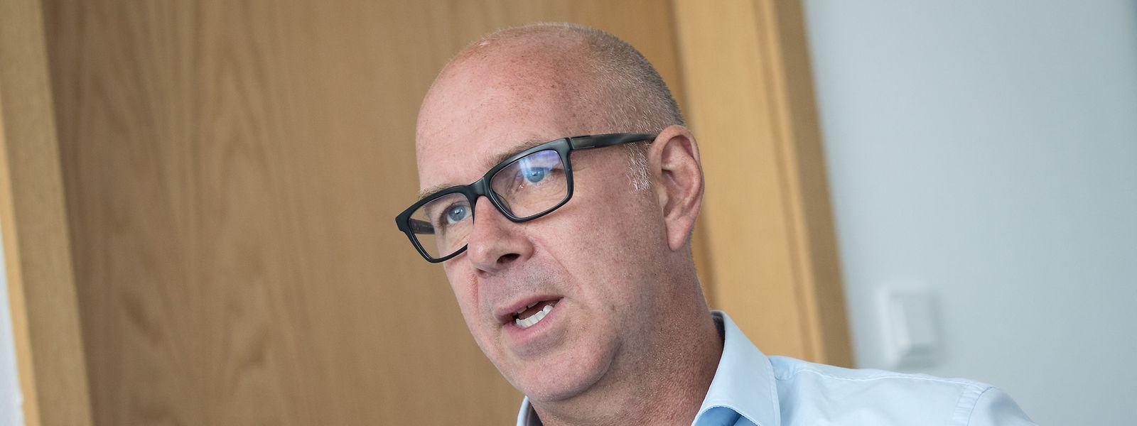 Raymond Conzemius ist aktuell noch Direktor des Sportlycée.